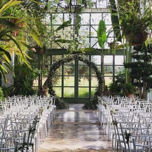 Arch Decor for the ceremony of an Elegant Boho Chic Wedding at the Beldi Country Club