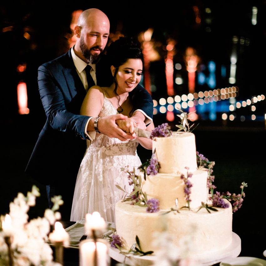 A Bohemian and Romantic Wedding at the Villa Dar Moucha in Morocco - Bespoke by Hello Event - The Wedding Cake