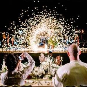 A Bohemian and a Romantic Wedding at the Villa Dar Moucha in Morocco - Bespoke by Hello Event - Fire Eater Entertainment