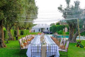 A Boho Wedding at the Amanjena Hotel Bespoke by Hello Event Wedding Planner - Diner Table