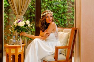 A Boho Wedding at the Amanjena Hotel Bespoke by Hello Event Wedding Planner - The bride