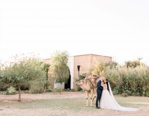 A Romantic Wedding at the Villa Dar Moucha in Morocco - Bespoke by Hello Event - Kiss plus Camel