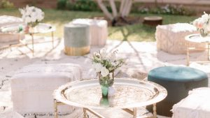 A Romantic Wedding at the Villa Dar Moucha in Morocco - Bespoke by Hello Event - Party Setup