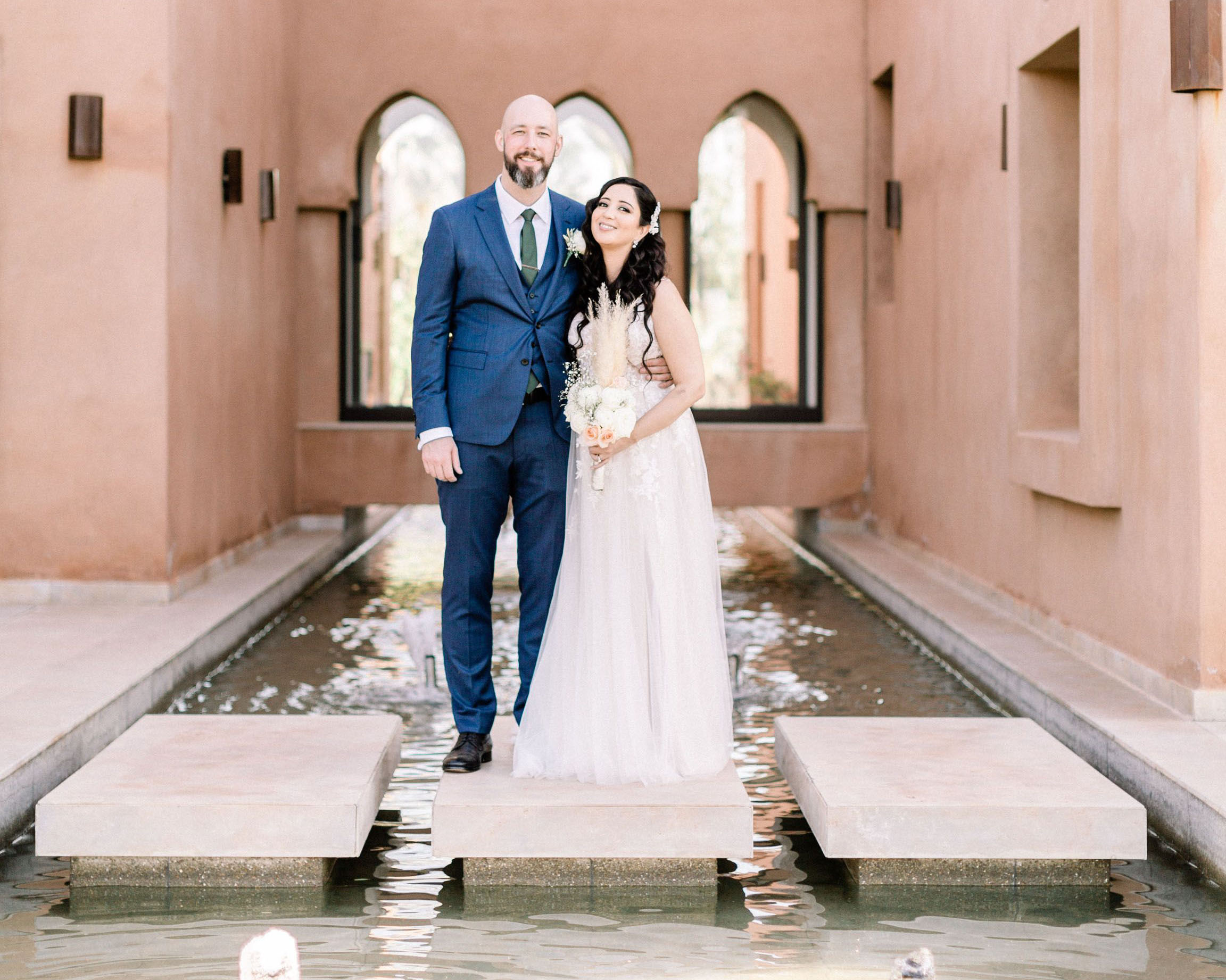 A Romantic Wedding at the Villa Dar Moucha in Morocco - Bespoke by Hello Event - The Couple 2