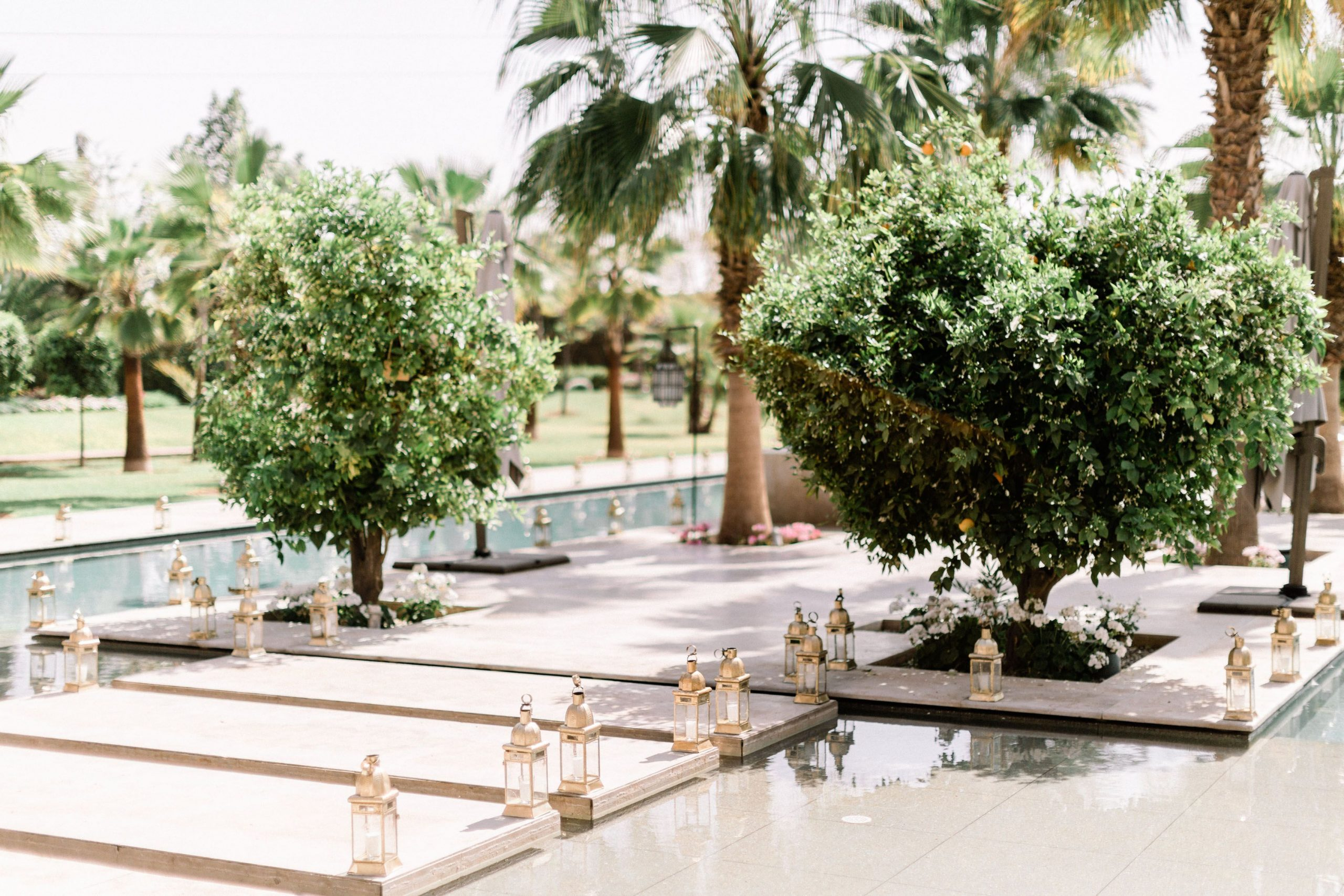 A Romantic Wedding at the Villa Dar Moucha in Morocco - Bespoke by Hello Event - Villa Decor