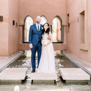 A Romantic Wedding at the Villa Dar Moucha in Morocco - Bespoke by Hello Event - The Couple