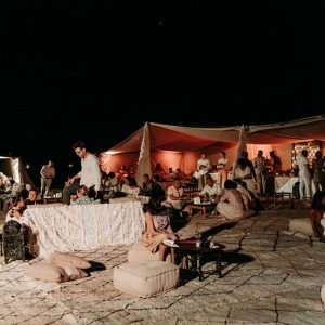 Desert Camp of an Elegant Boho Chic Wedding at the Beldi Country Club - Hello Event
